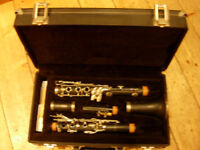 Armstrong clarinet with case, reeds etc -in as new condition , very good starter instrument