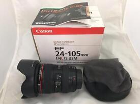 Canon EF ‑ 24‑105mm ‑ F/4.0 L IS USM Lens