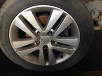 Astra H sxi single 16 inch alloy wheel and tyre