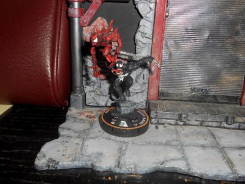 CUSTOM HEROCLIX - VENOM & CARNAGE LE Miniature Figure DUO Marvel Amazing!