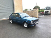 1983 Toyota Starlet KP60 RWD Blacktop 20V Engine and Twincam Gearbox with MK 2 Escort Rear Axle
