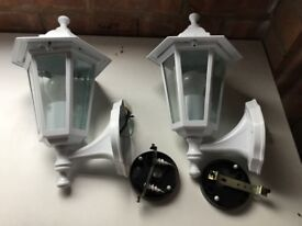 Two White Lantern Lights