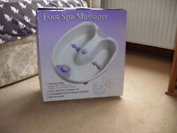 Foot spa massager, with box