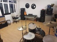 SOUNDPROOF CREATIVE SPACE REHEARSAL ROOM RECORDING STUDIO