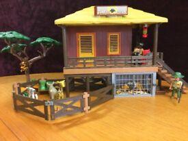 Playmobil 4826 Wildlife Care Station