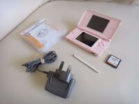 Nintendo DS Lite in Good Condition with Game