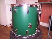 Pearl 6-piece drum kit with all hardware and most cases. Price dropped for quick sale.