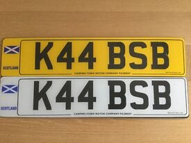 K44 BSB Private (cherished) car number plate