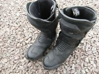 pair of Profirst motorbike boots size UK 8 / Euro 42