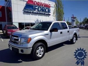 2014 Ford F-150 XLT 4WD SuperCrew Short Box, Seats 6, Low KMs