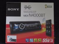 Sony MEX-NB4000BT Bluetooth Stereo with front USB and aux port