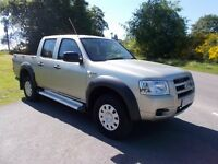 *NO VAT* 2007 57 FORD RANGER 2.5 TDCI 4X4 DOUBLE CAB METALLIC ARIZONA GOLD