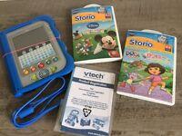 Vtech Storio Reader (inc. Dora the Explorer & Mickey Mouse Clubhouse