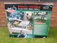 George Foreman BBQ electric grill