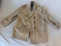 Mens Burberry Coat - Size XL