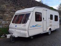 Bailey Discovery Five Berth Touring Caravan