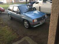 Vauxhall, NOVA, Hatchback, 1988, Manual, 1196 (cc), 3 doors