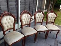 French Chairs x4