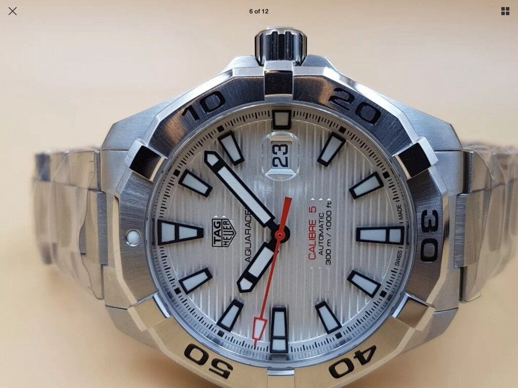 0c5f910e96c4 TAG Heuer Aquaracer Calibre 5 Automatic Watch - WAY2013.BA0927 ...