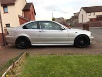 BMW 318 coupe M sport 54 plate