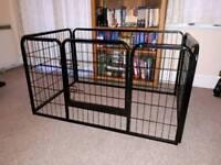 Heavy duty puppy play pen/enclosure