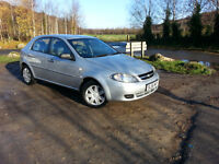 2007 Chevrolet Lacetti, 1.4 Petrol, Tax And Tested, Full History, Low Mileage