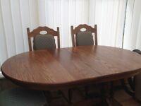 Solid Oak Dining room furniture set - Hatfields of Colchester