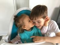 Childcare 2 kids (5yo and 1yo) pick up and drop of - Chiswick
