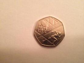 Commonwealth games Glasgow 50p