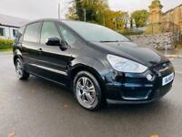 2010 FORD SMAX ZETEC 1.8 TDCI 6G 7 SEATER ONLY 80,000 MILES FULL SERVICE HISTORY EXCELLENT CONDITION
