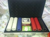Professional Poker Set in Briefcase
