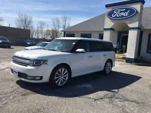 2013 Ford Flex Limited LEATHER SUNROOF AWD