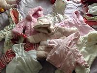 Baby clothes bundle ages newborn - 0/3 months