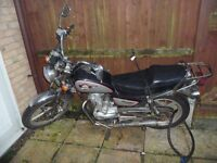 Spares or repair Huoniao 125cc motorbike , good condition