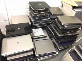 Laptops Notebooks for spars and repairs only strictly more then 100 pcs