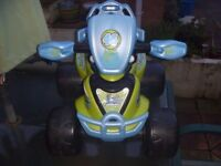 Toy - Valentino Rossi 46 - Electric Quad Bike - Chad Valley Storm Racer