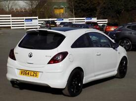 VAUXHALL CORSA 1.2 LIMITED EDITION CDTI ECOFLEX 3dr ** LOW MILES + ONLY 20 RFL ** (white) 2014