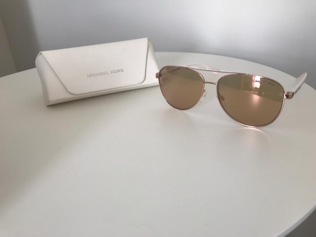d30120bf56821 Michael Kors MK5007 Hvar I Aviator Sunglasses