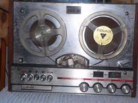 Vintage reel to reel audio recorder