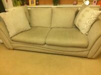 Large 3 seater sofa and chair