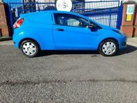 2014 14reg Ford Fiesta Van 1.5 Tdci Blue Good Runner