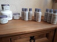 Professional cleansers and moisturisers