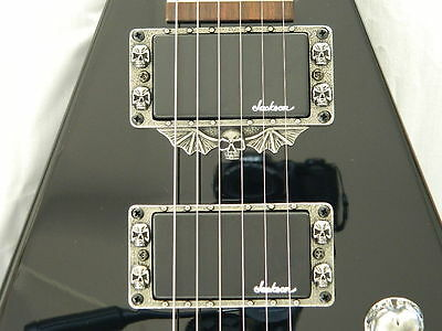SKULL HUMBUCKER PICKUP RINGS fits JACKSON KELLY GUITAR KE2 KE3 KE4 JS32 XL STD