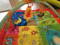 Extra large baby gym/play mat