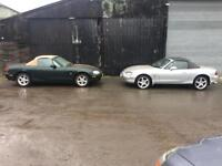 MAZDA MX5 Convertibles x2 £799 for both