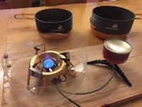 Jet boil mountain stove