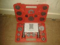 Brake calliper wind back tool kit