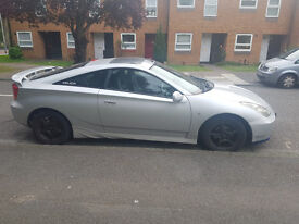 Cheapest and clean Toyota Celica Vvti with low mileage!