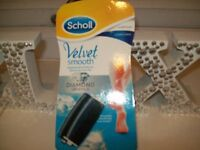 SCHOLL VELVET SMOOTH REPLACEMENT ROLLERS NEW