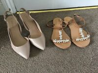 New with tag New Look heels size 6, Next sandals size 6,